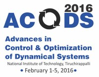 Advances in Control and Optimization of Dynamical Systems - ACODS 2016