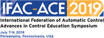 Advances in Control Education - 12th ACE 2019™