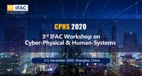 Cyber-Physical and Human Systems - 3rd CPHS 2020™