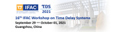 Time Delay Systems - 16th TDS 2021™